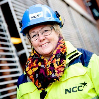 Bild Maria Zimdahl, Senior Vice President & Deputy Head of NCC Infraservices