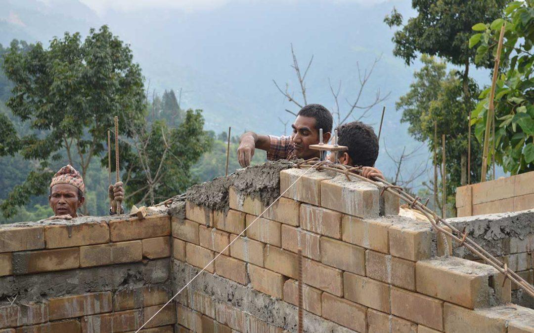 Ingenjörer utan gränser bygger upp Nepal