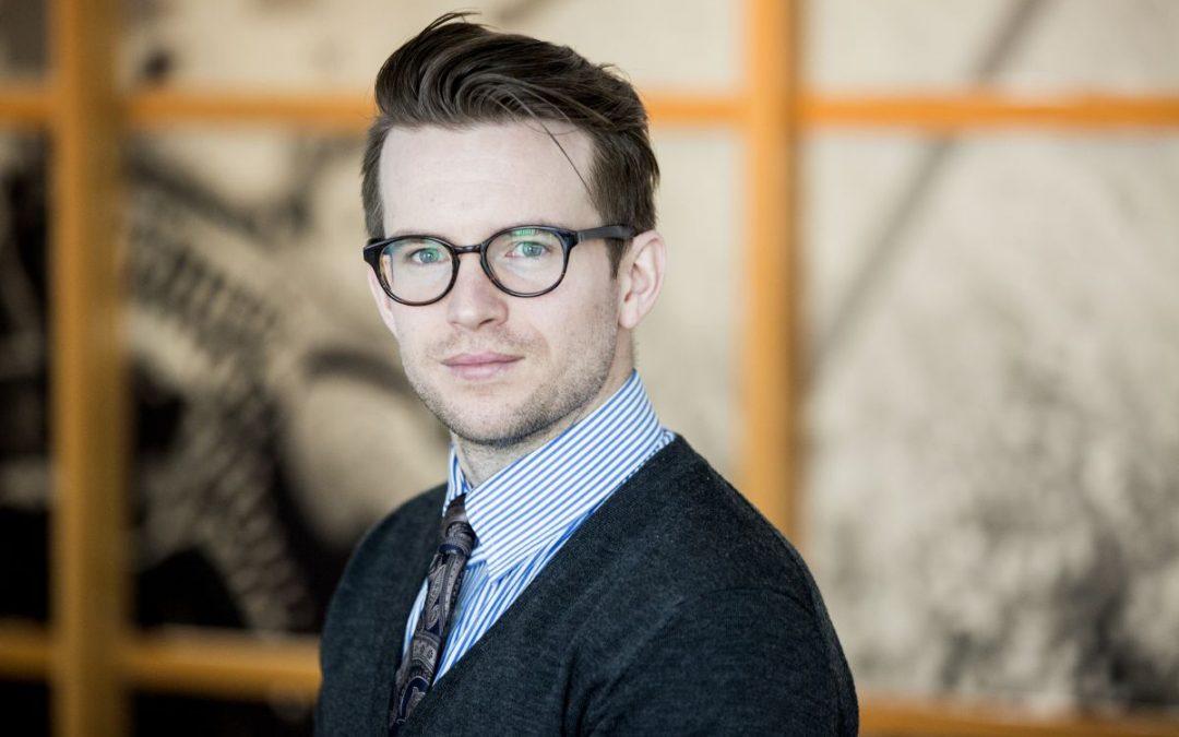 NCC:s Sebastian Lembke rankad högt bland unga hållbarhetsprofiler