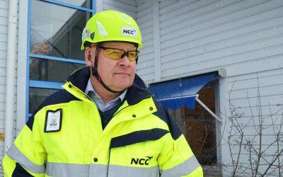 Martin bytte jobb inom NCC och vann branschpris för sitt nytänkande