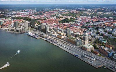 Masthuggskajen först i Sverige att tilldelas ny certifiering för hållbar stadsutveckling