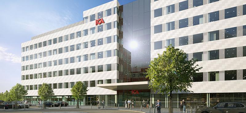 ICAs nya huvudkontor I Solna