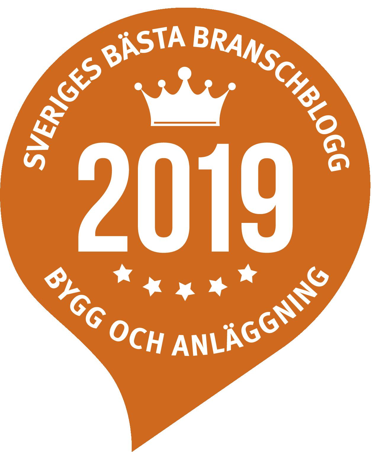 Sveriges bästa branschblogg 2019