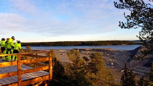 Utsikt över Norvik