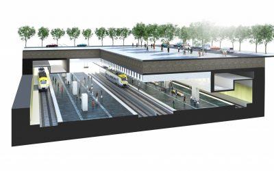 Spännande fas för Centralen i Västlänken, Göteborg
