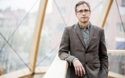 Björn om Katarina Löfströms ljusinstallation i Dome of Visions