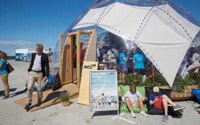 NCC:are på många scener i Almedalen, Visby