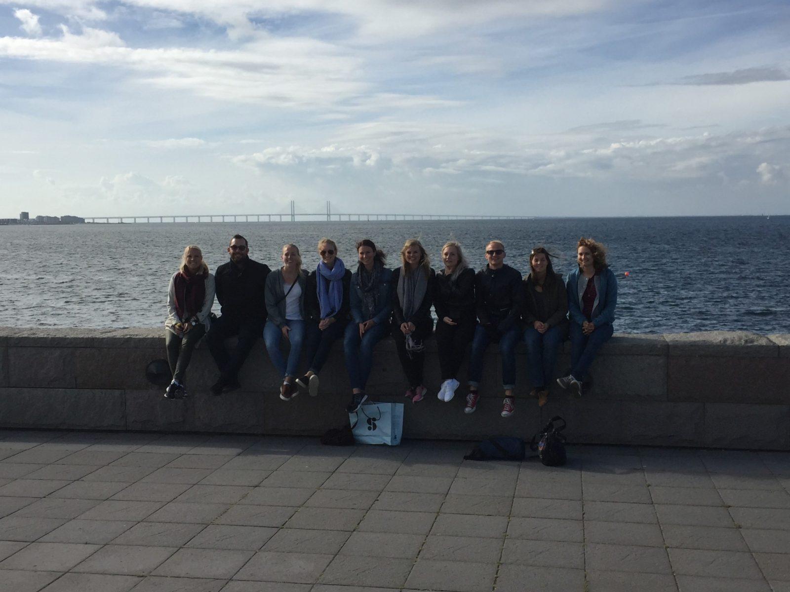 Traineer på besök i Malmö