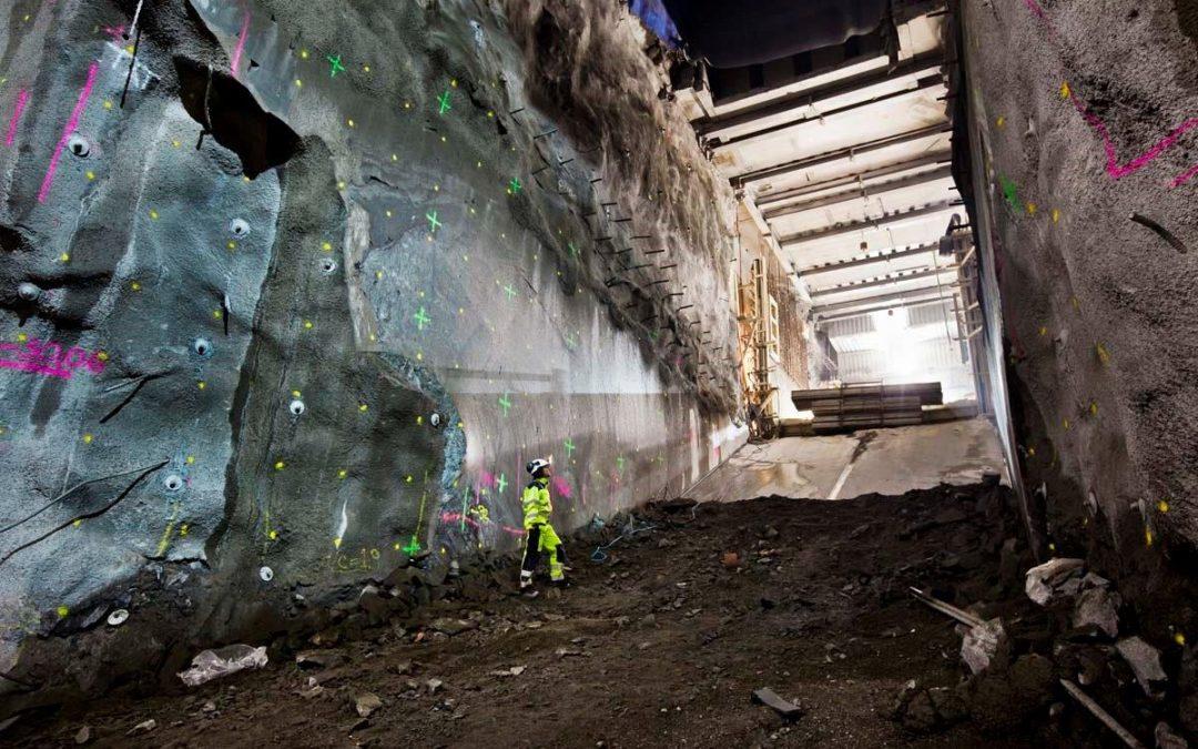 Traineen som blev tunnelsprängare och hamnade i Kina