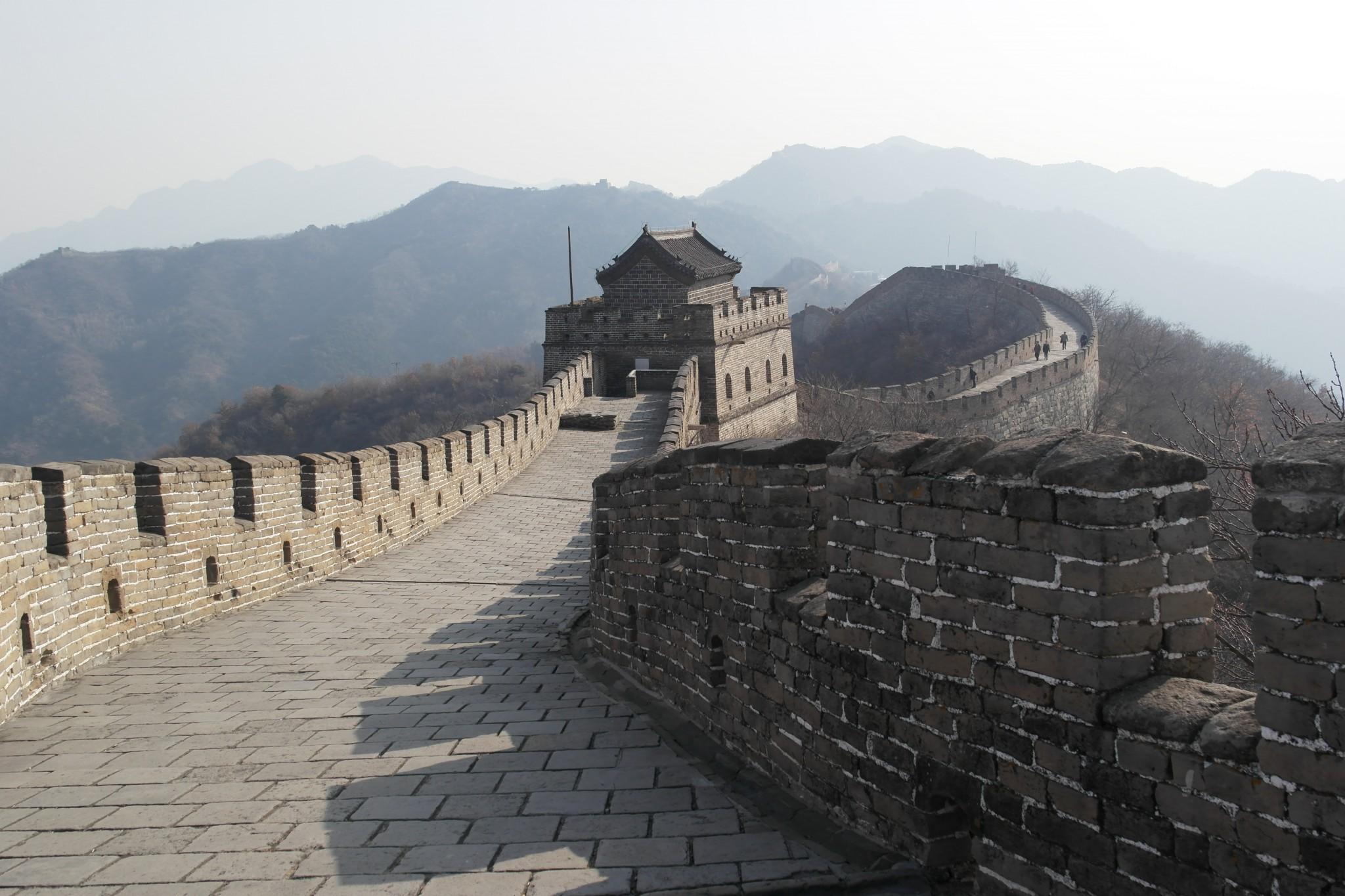 Kina krok upp