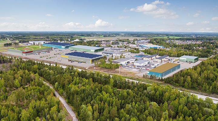 Önskebrunnen – drömläge för logistik i Upplands-Bro