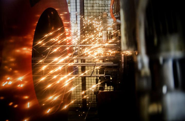 Industrins arbetsmiljöer kartläggs med robot
