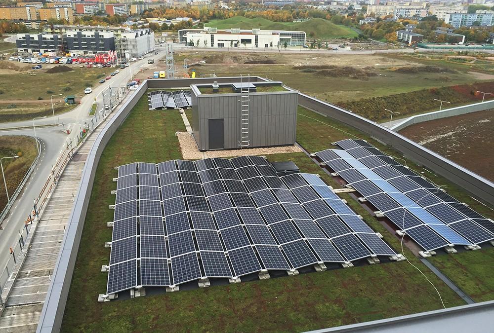 Framtidens byggnader är både hus och kraftverk
